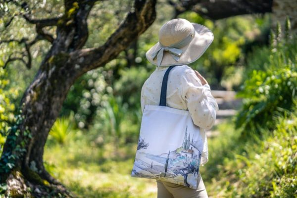 """L'auguste Provence - Sac coton """"Oliviers"""""""
